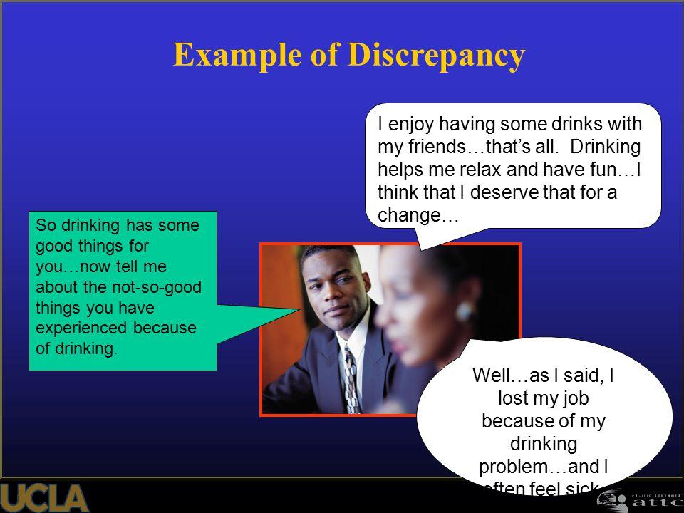 Example of Discrepancy