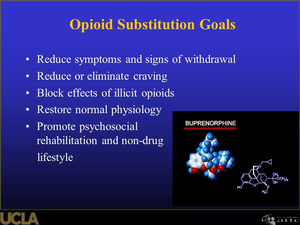 Opioid Substitution Goals