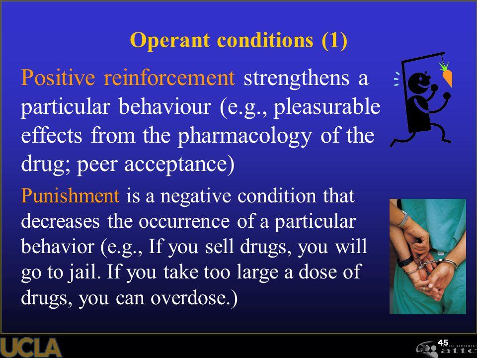 Operant conditions (1)