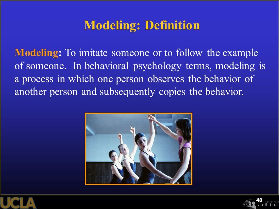 Modeling: Definition