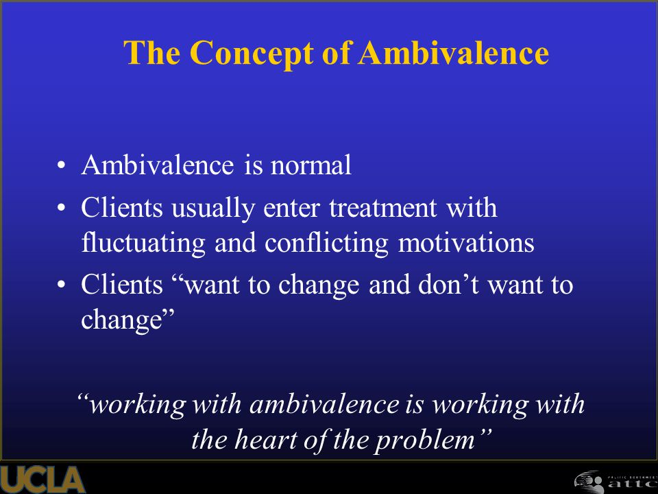 The Concept of Ambivalence