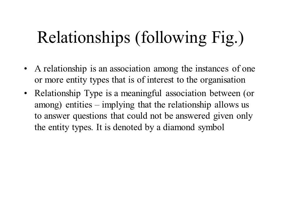 Relationships (following Fig.)