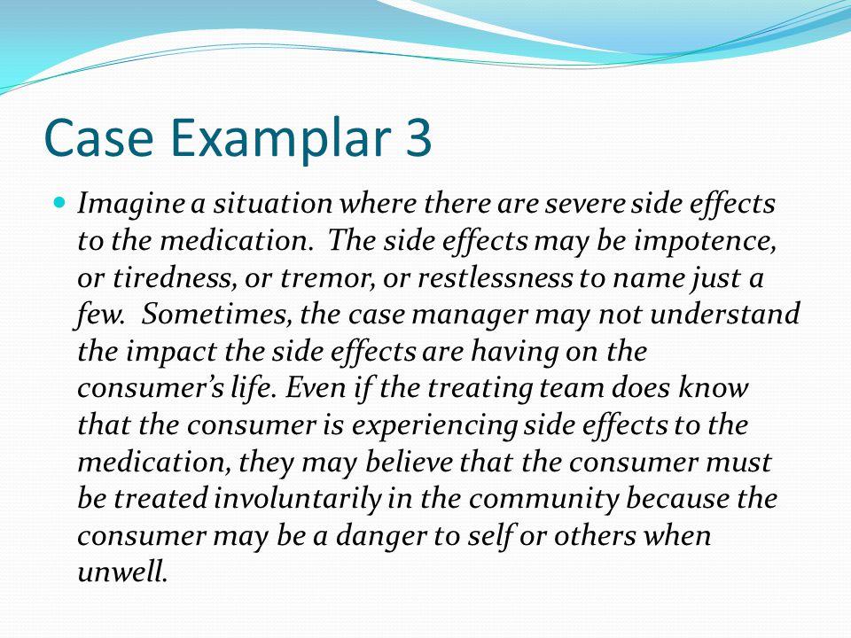 Case Examplar 3
