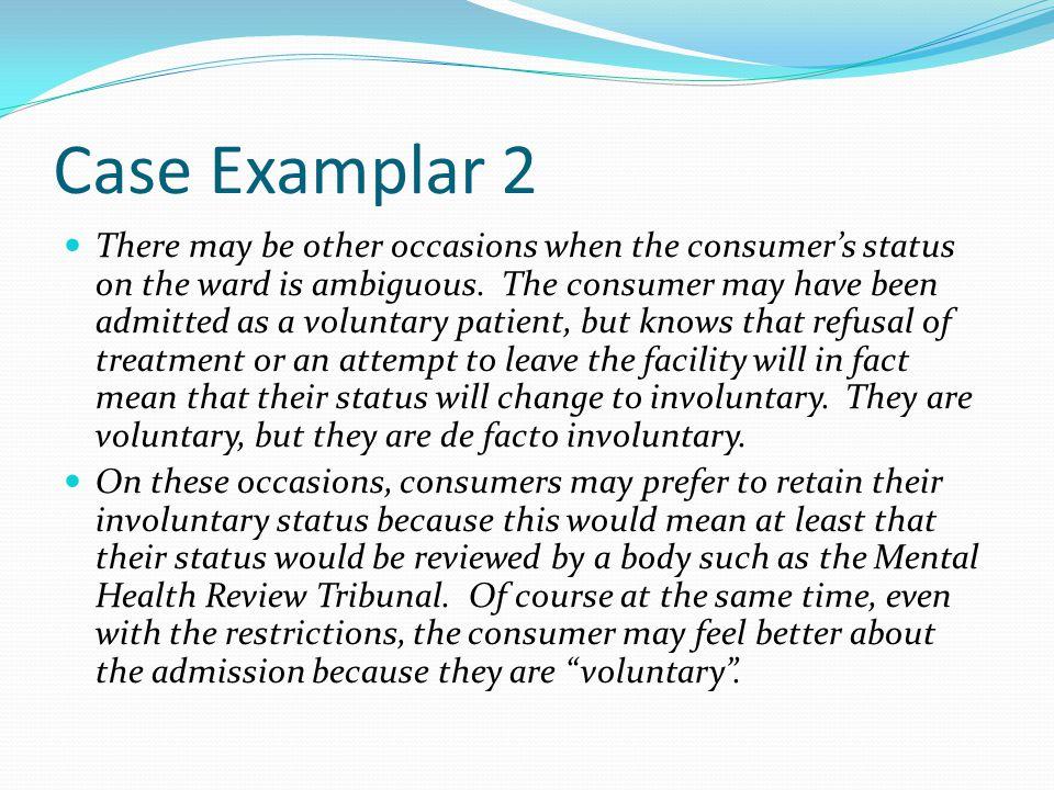 Case Examplar 2