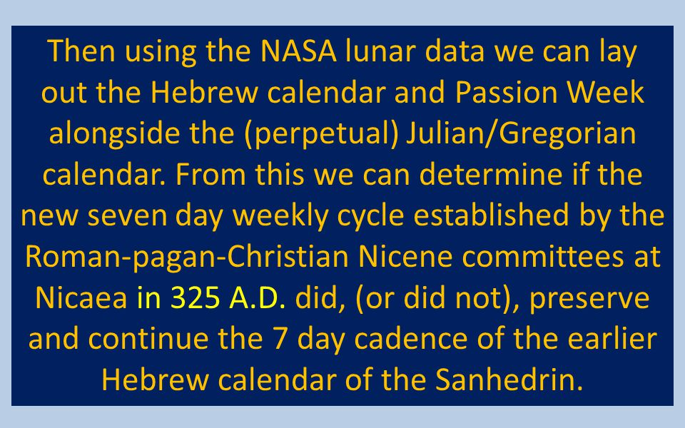 Then using the NASA lunar data we can lay