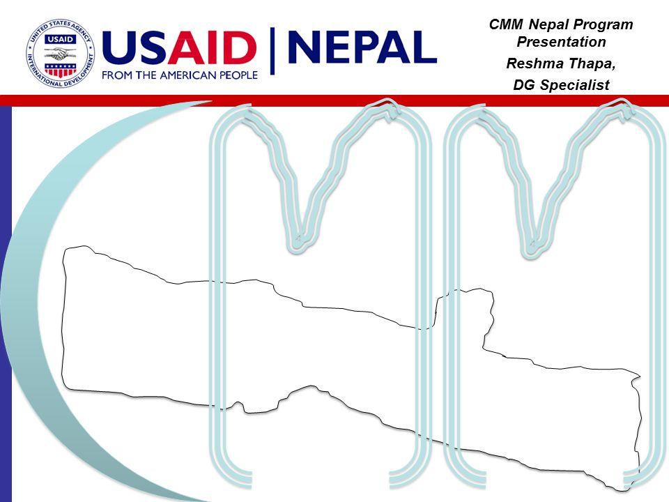 CMM Nepal Program Presentation