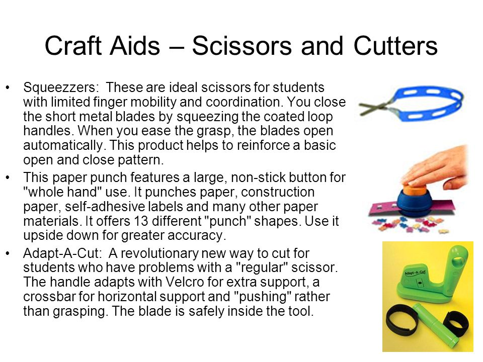 Craft Aids – Scissors and Cutters
