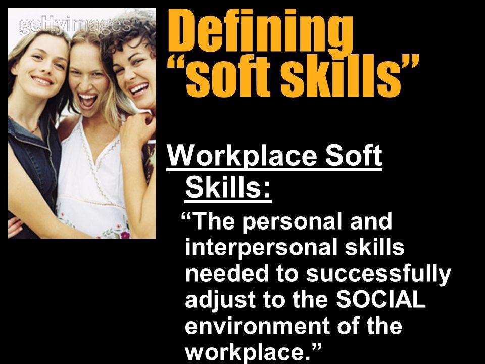 Defining soft skills