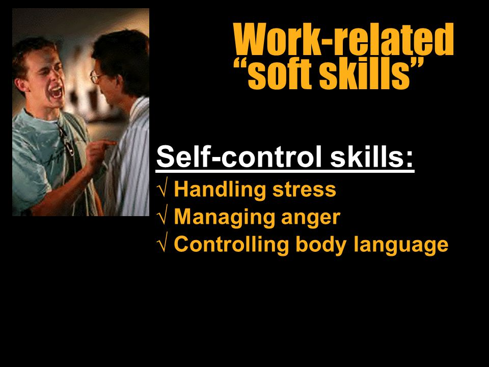 Work-related soft skills