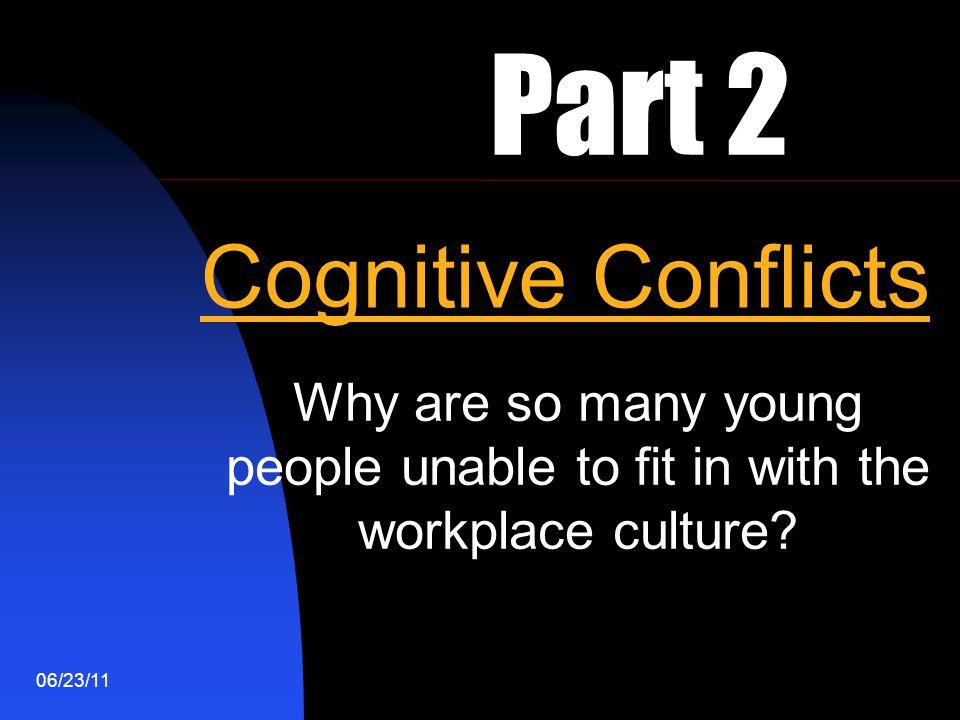 Part 2 Cognitive Conflicts
