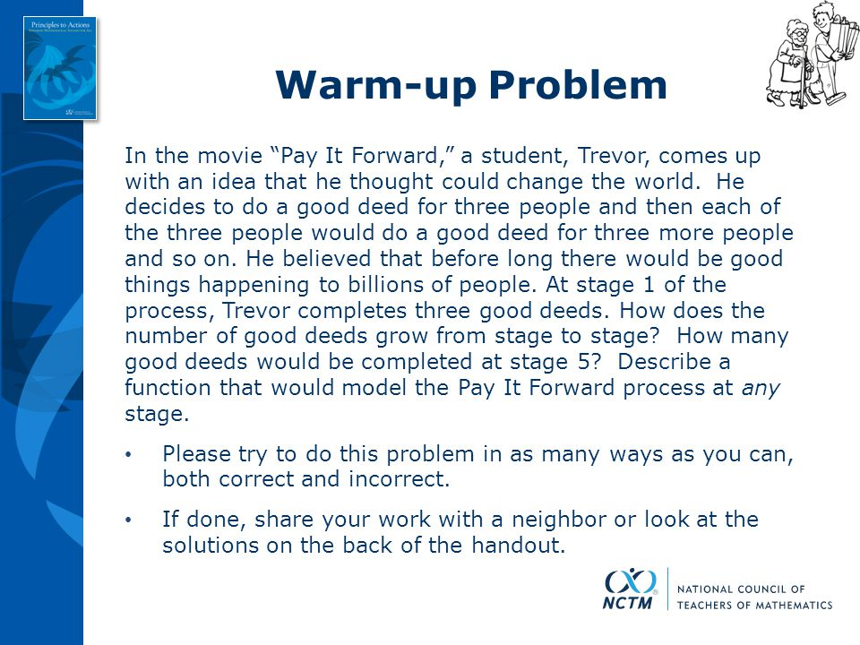 Warm-up Problem