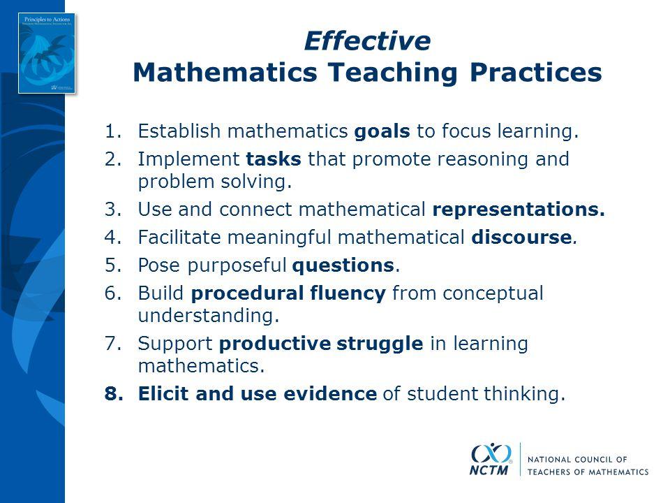 Mathematics Teaching Practices