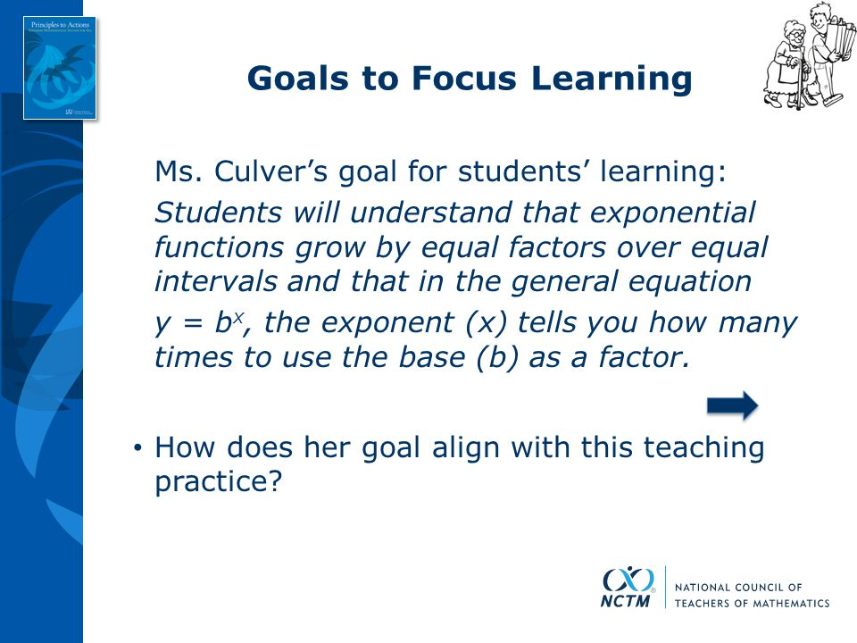 Goals to Focus Learning