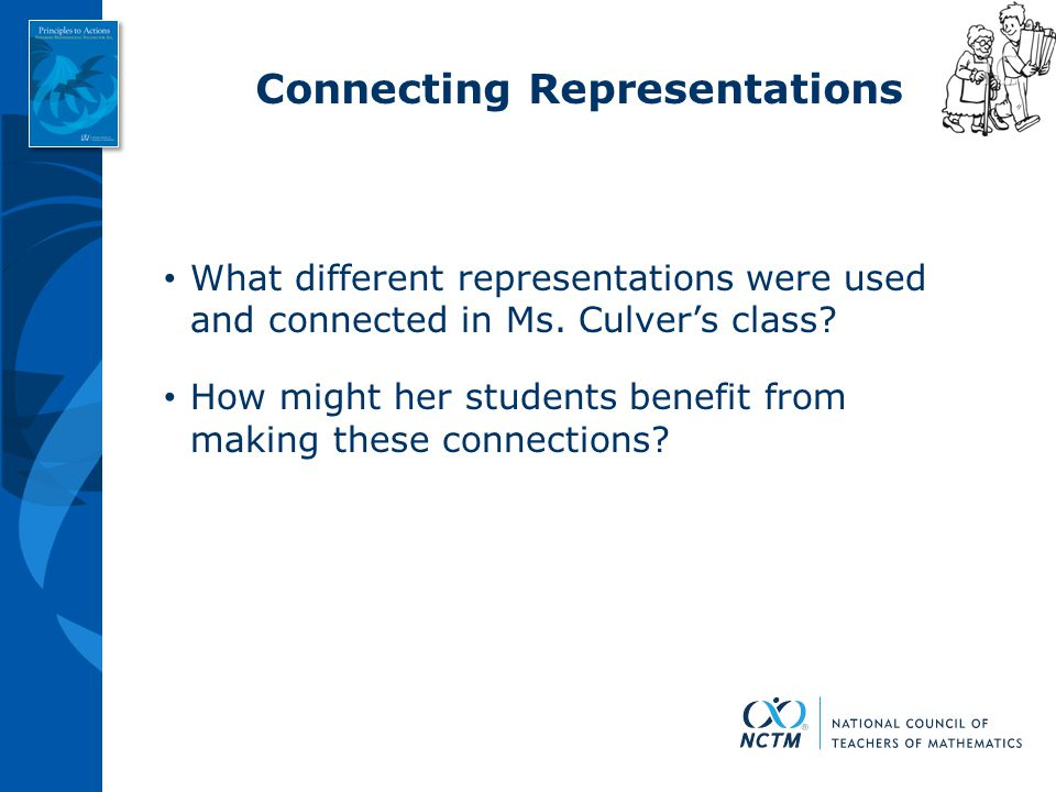 Connecting Representations