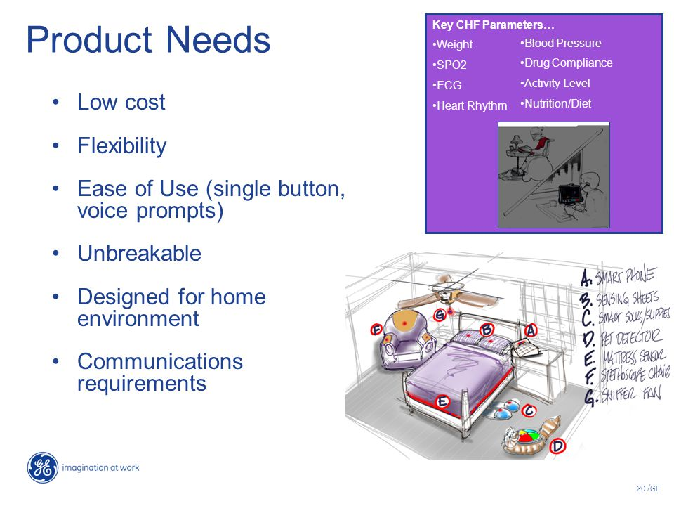 Product Needs Low cost Flexibility