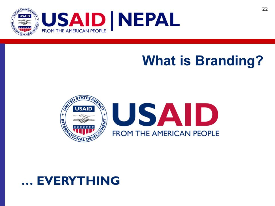 What is Branding … EVERYTHING