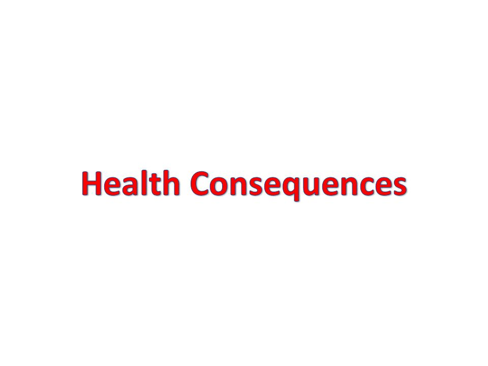 Health Consequences