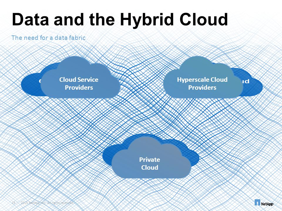 Data and the Hybrid Cloud