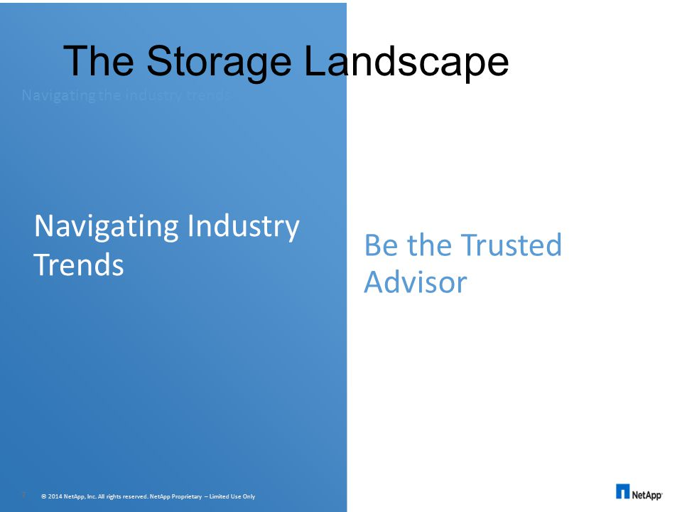 The Storage Landscape Navigating Industry Trends