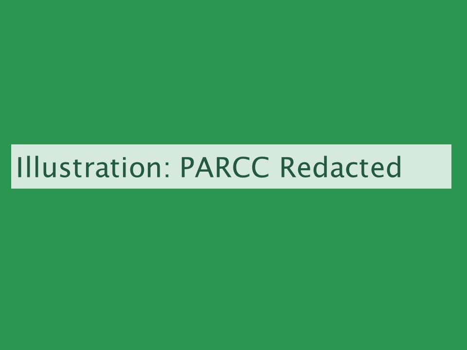 Illustration: PARCC Redacted