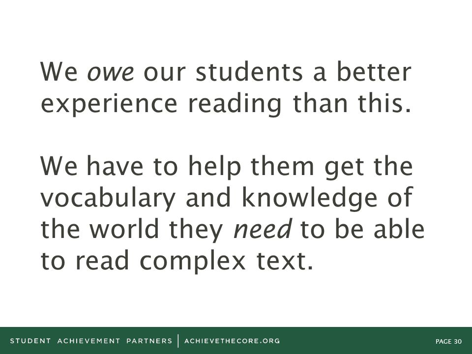 We owe our students a better experience reading than this