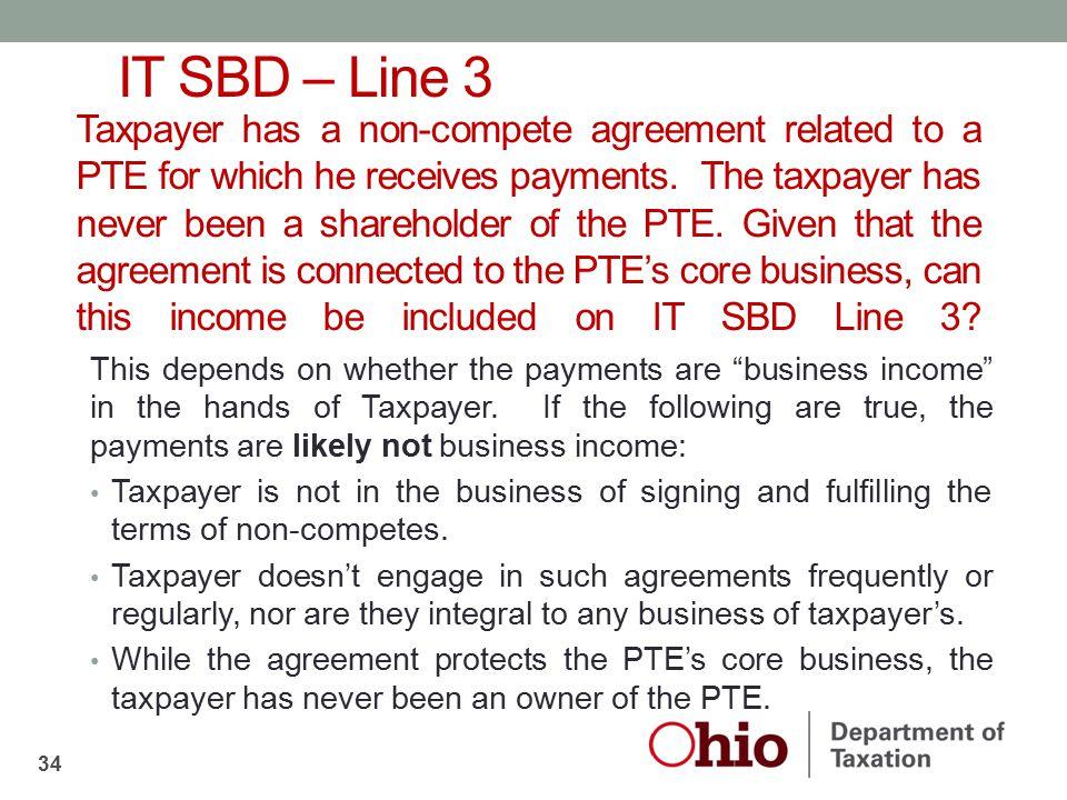 IT SBD – Line 3