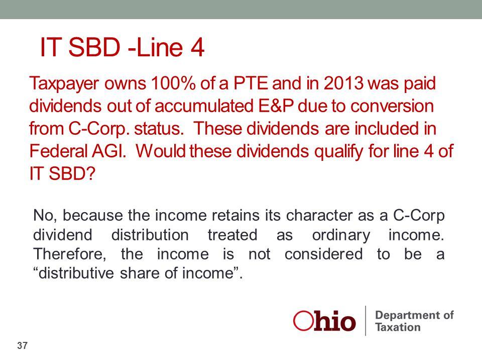 IT SBD -Line 4