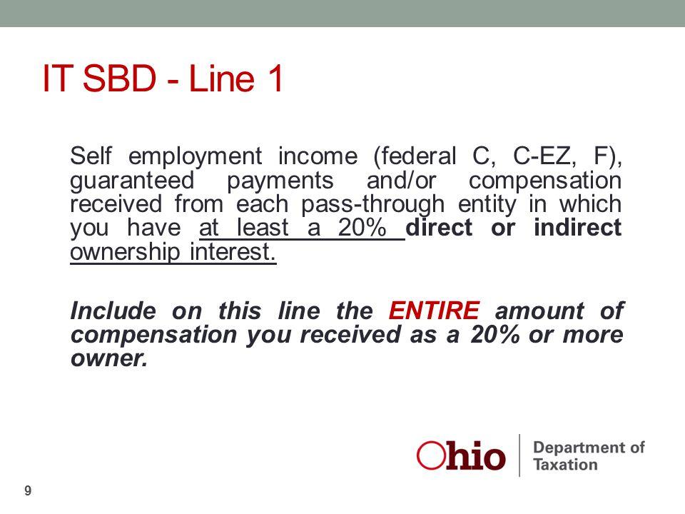 IT SBD - Line 1