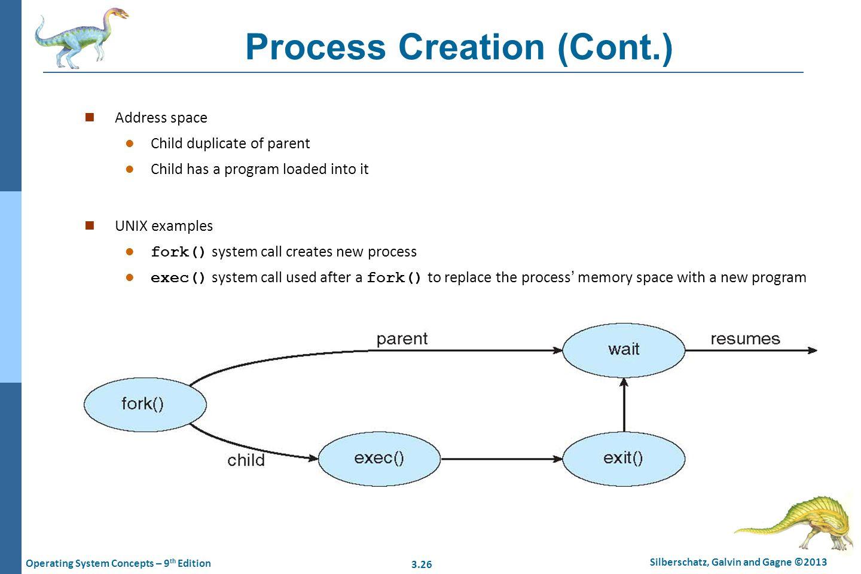 Process Creation (Cont.)