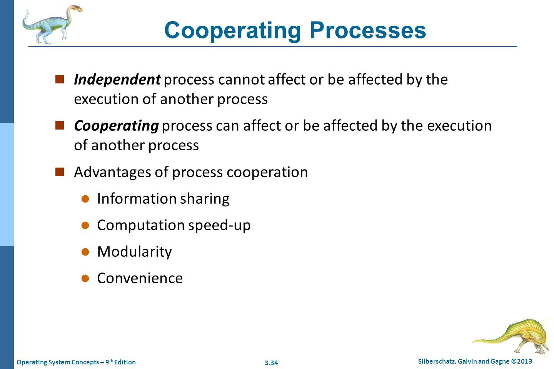 Cooperating Processes