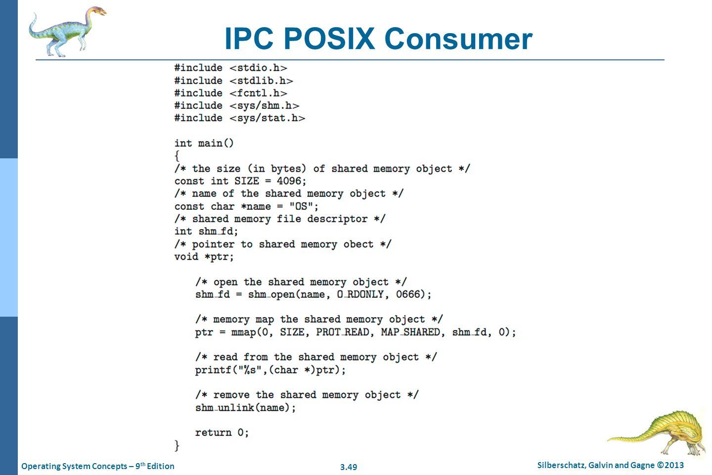 IPC POSIX Consumer