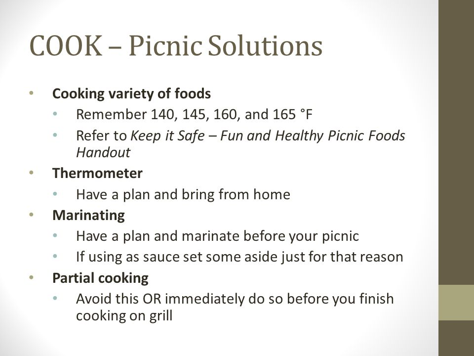 COOK – Picnic Solutions