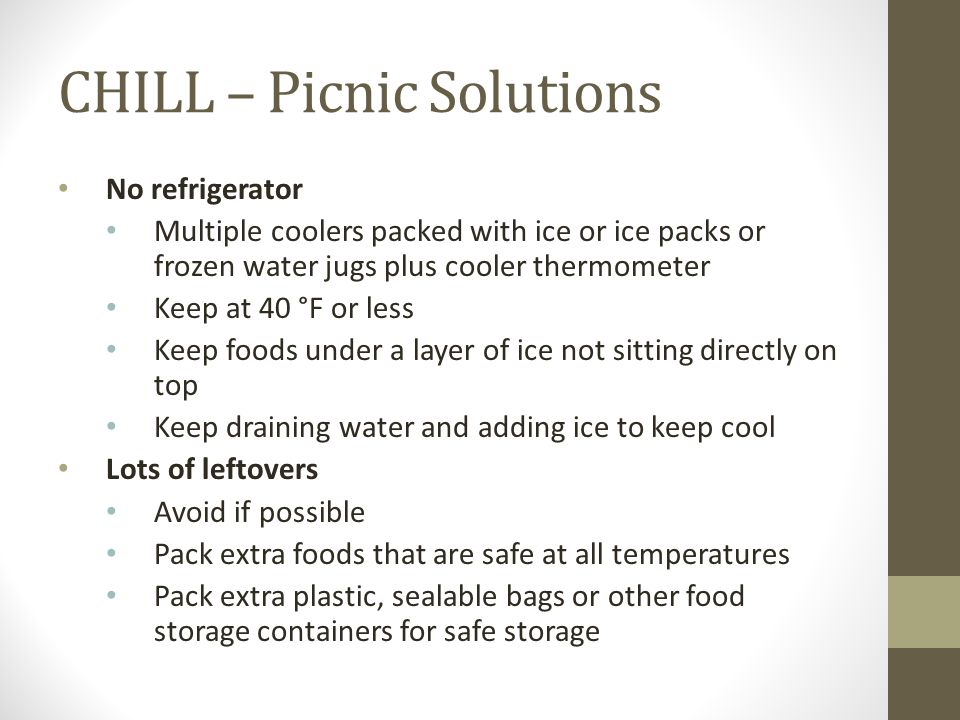 CHILL – Picnic Solutions
