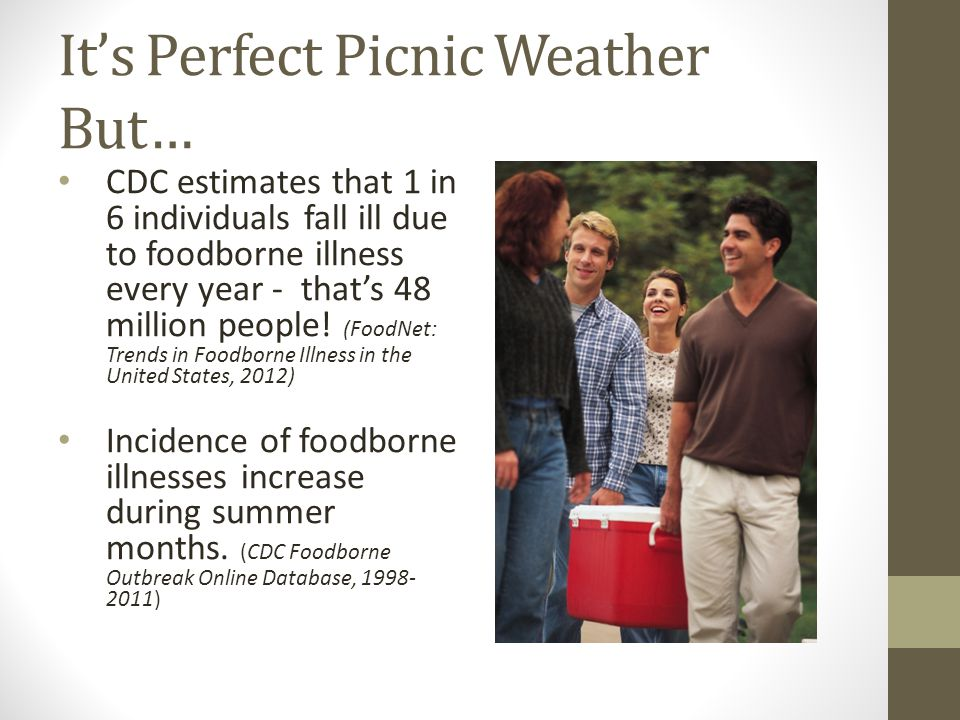 It's Perfect Picnic Weather But…