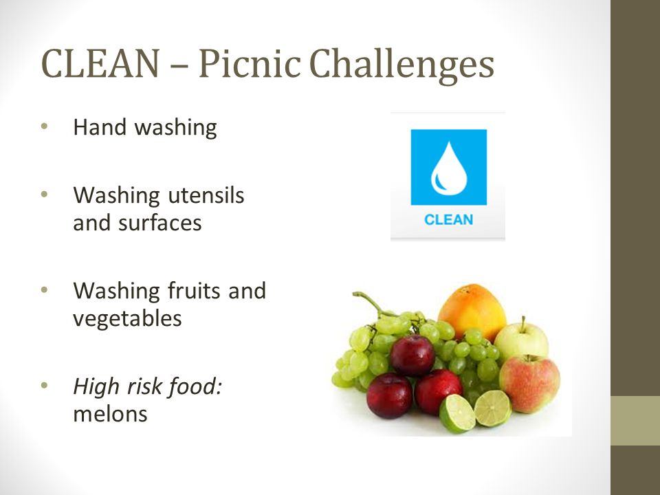 CLEAN – Picnic Challenges
