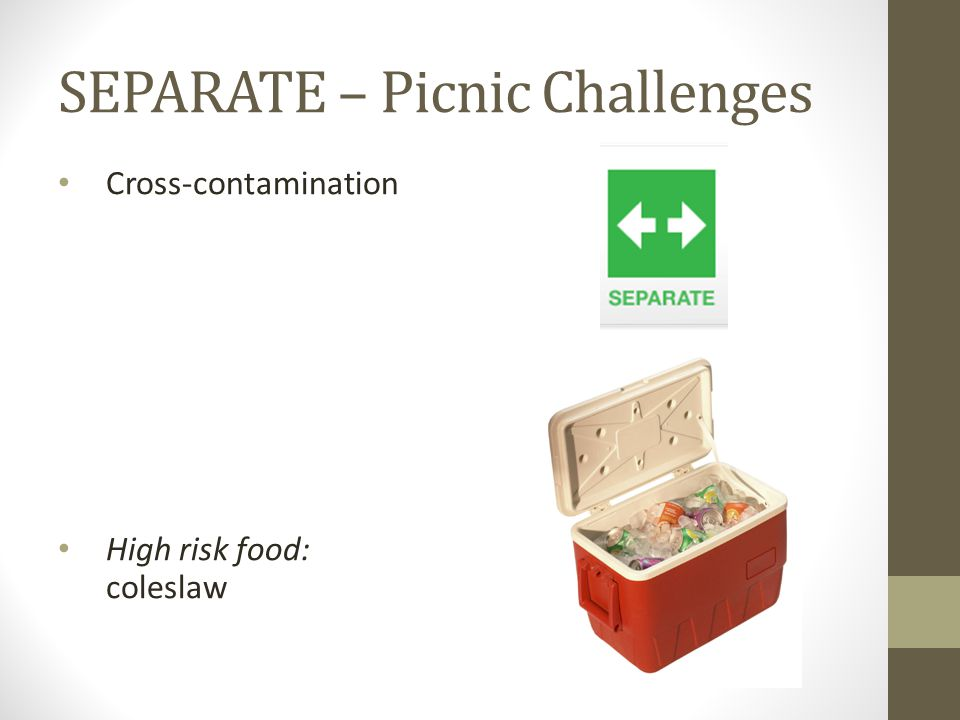 SEPARATE – Picnic Challenges