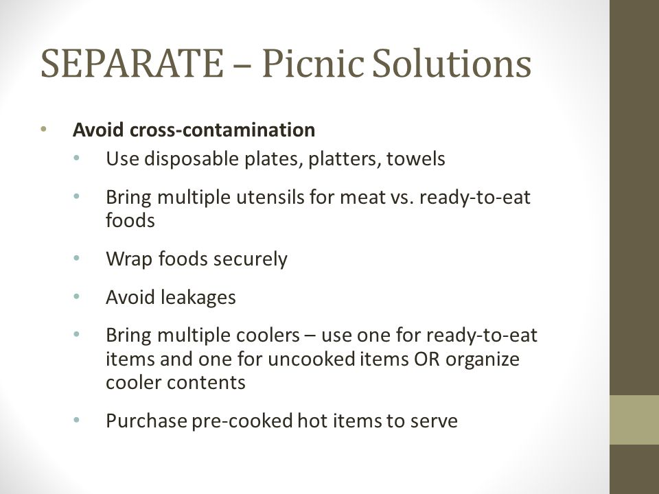 SEPARATE – Picnic Solutions