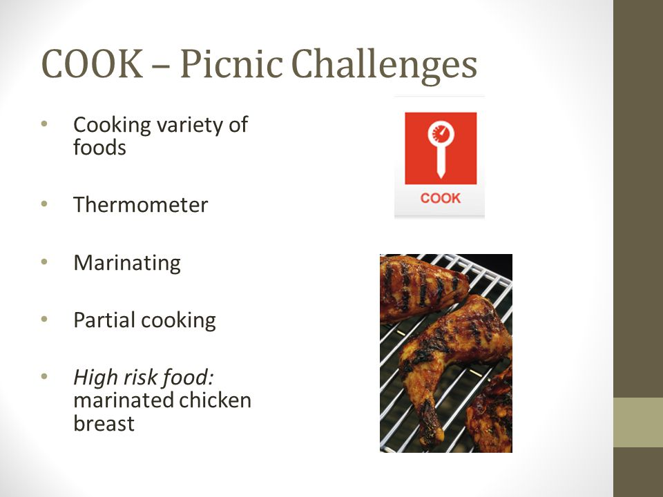 COOK – Picnic Challenges