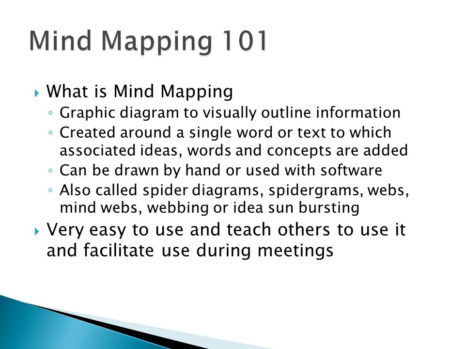 Mind Mapping 101 What is Mind Mapping