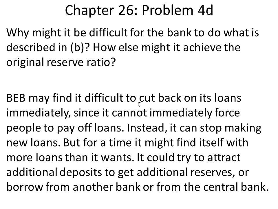 Chapter 26: Problem 4d