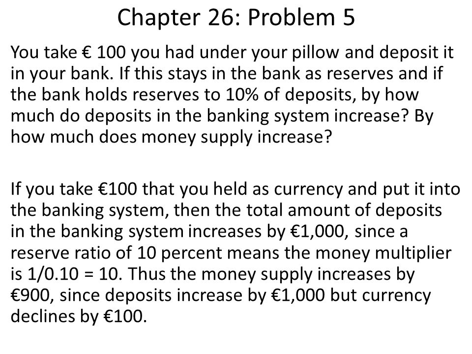 Chapter 26: Problem 5