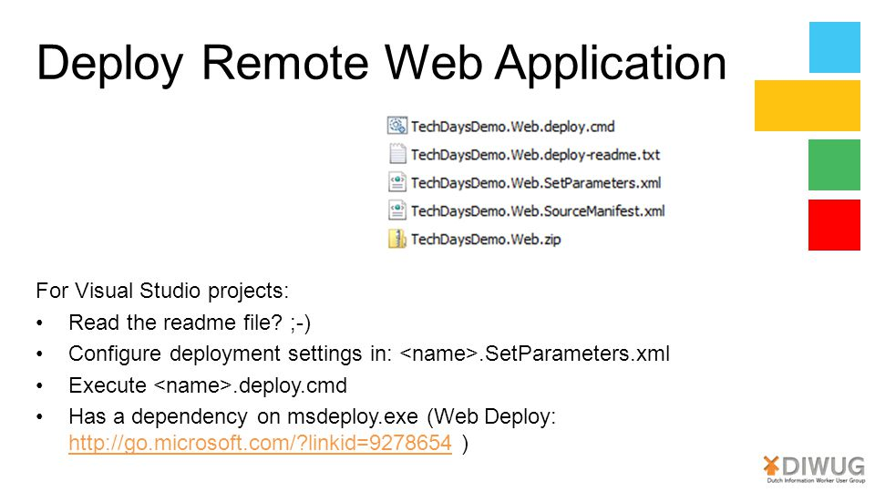 Deploy Remote Web Application