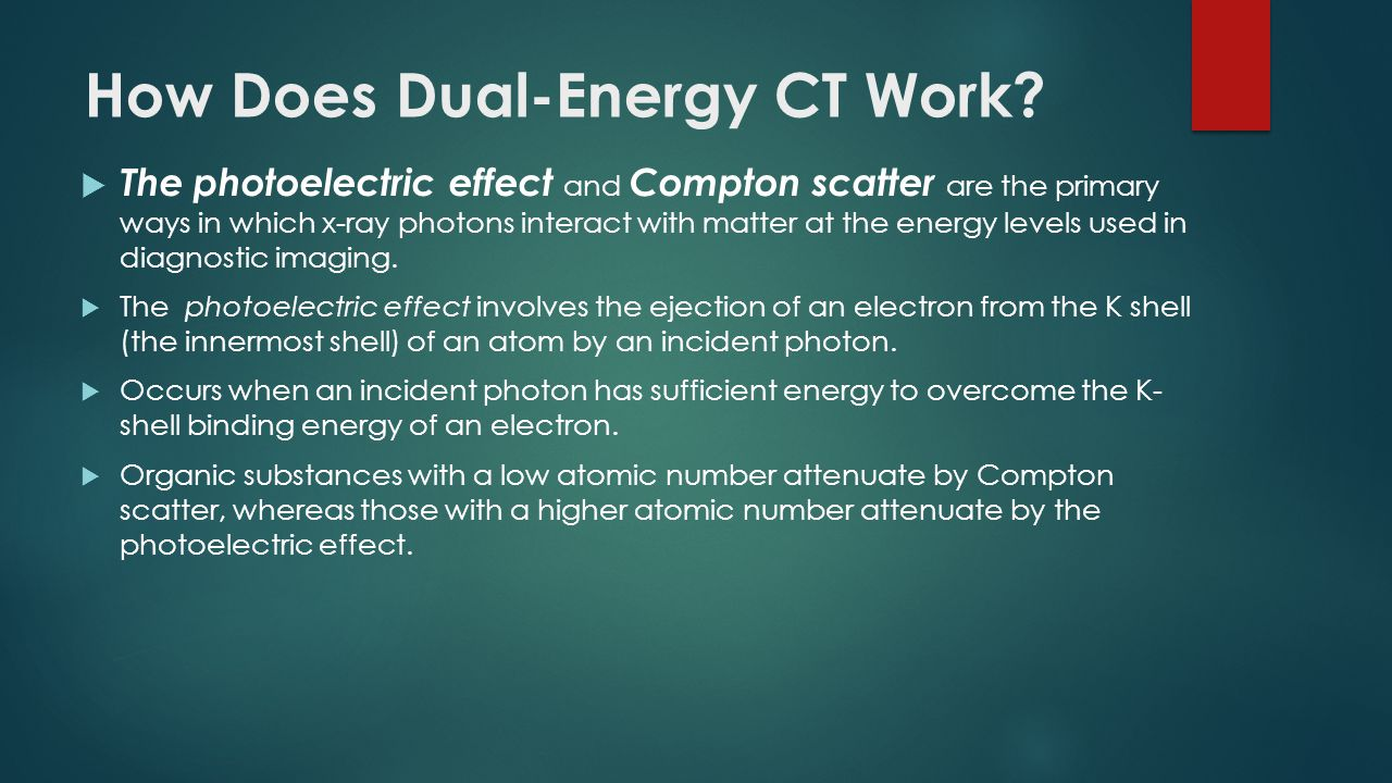 How Does Dual-Energy CT Work