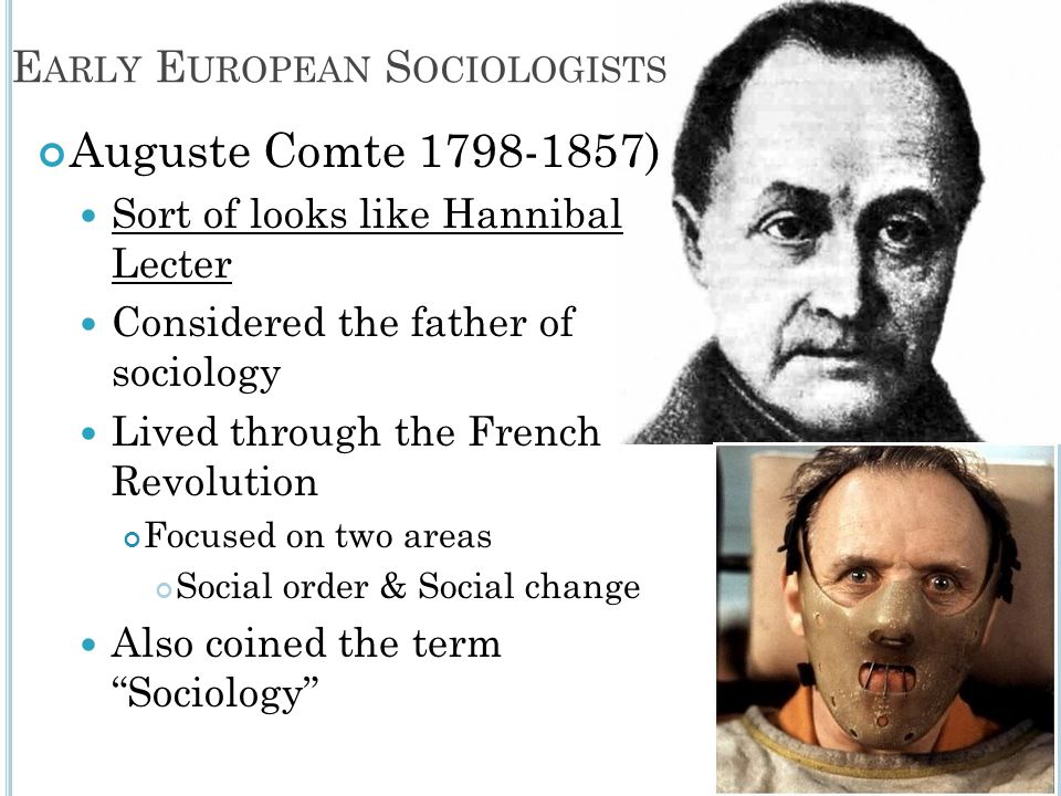 Early European Sociologists