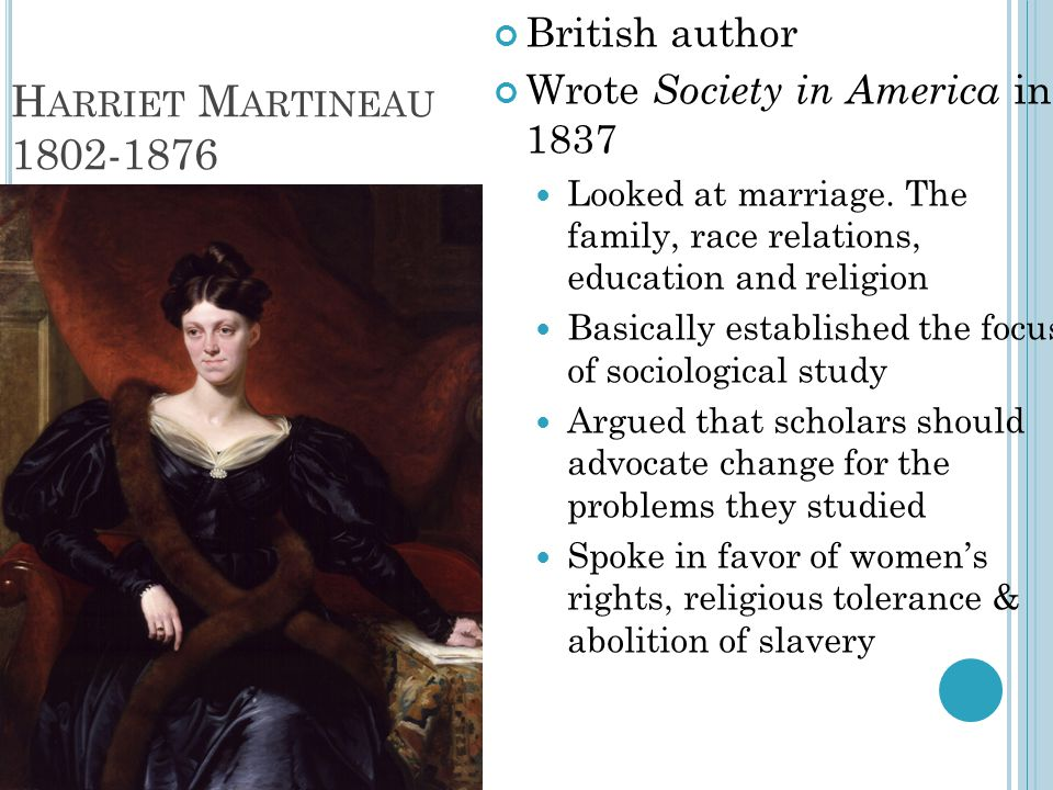 Harriet Martineau 1802-1876 British author