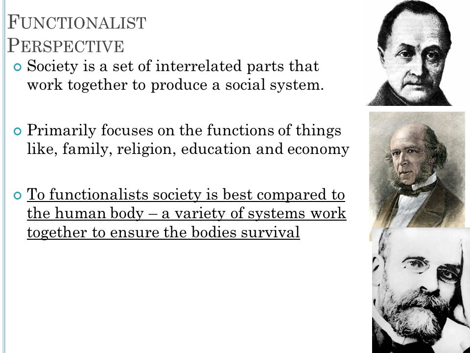 functionalist view on social inequality
