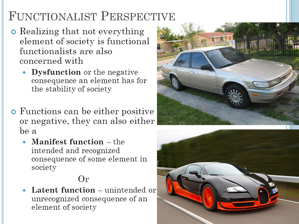 Functionalist Perspective