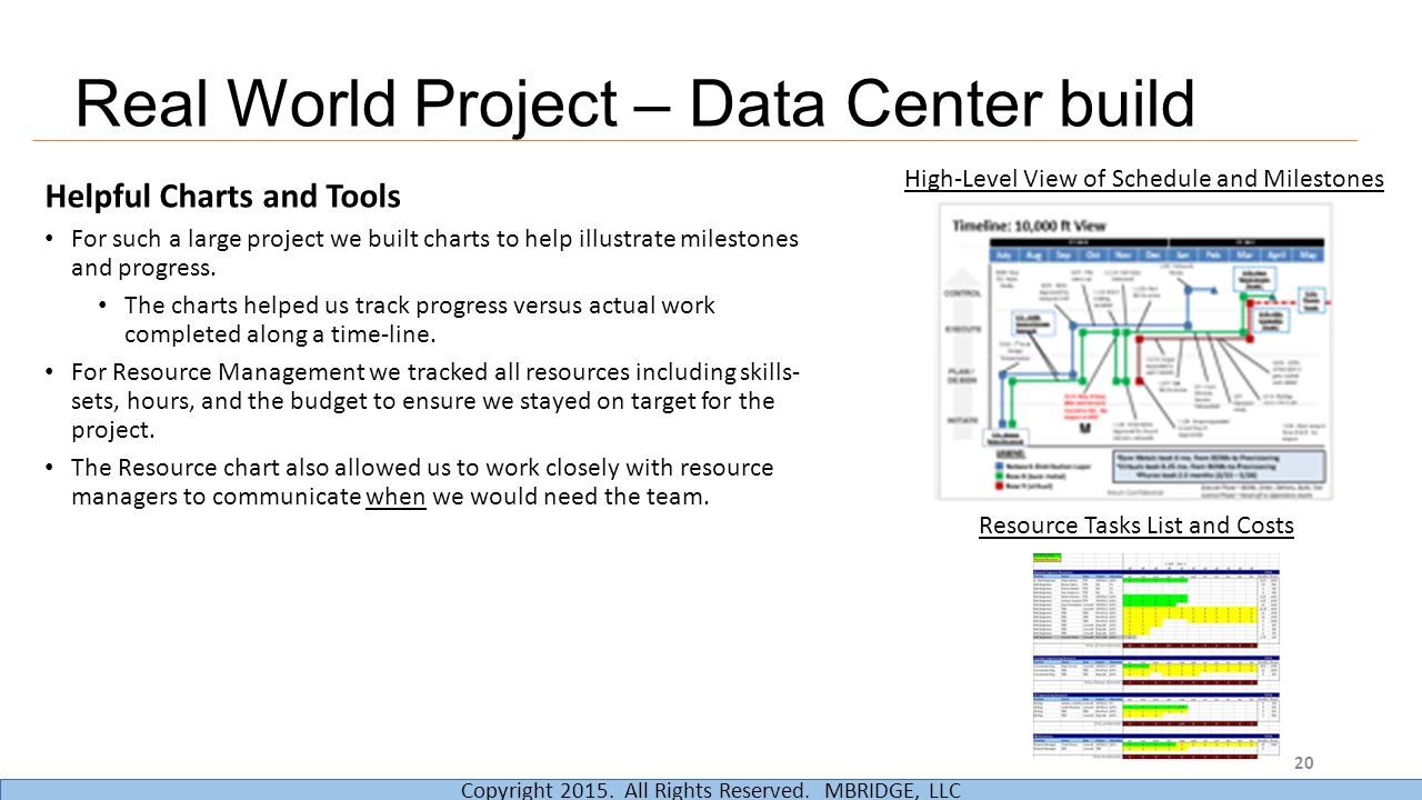 Real World Project – Data Center build
