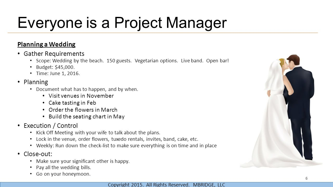 Everyone is a Project Manager