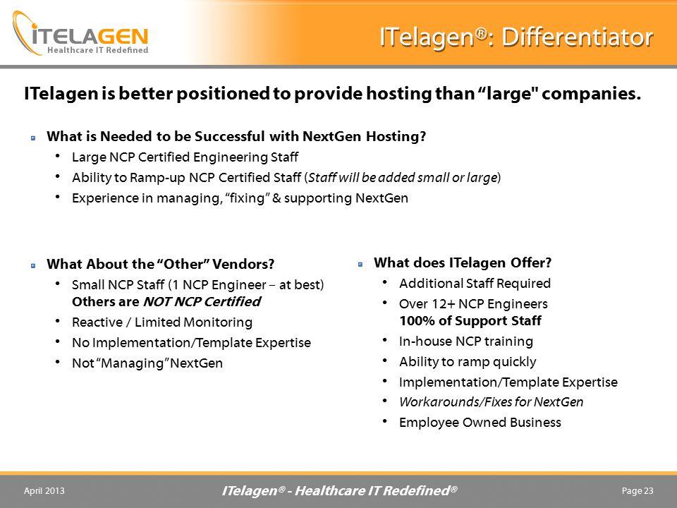 ITelagen®: Differentiator
